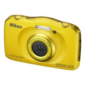 Aparat cyfrowy Nikon Coolpix W100 BACKPACK KIT (VQA013K001) Żółty