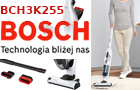 Bosch Flexxo BCH3K255 Odkurzacz bezworkowy.Pionowy
