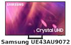 Samsung UE43AU9072 Crystal UHD